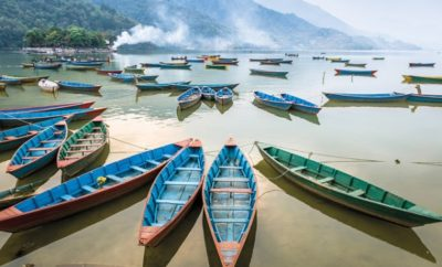 Boats in Pokhara